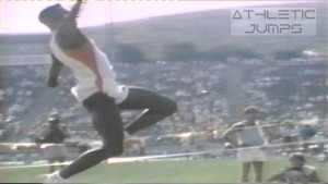 The Long jump take-off – Take-off angle & velocity ...