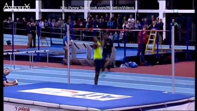 High Jump History Men 39 s High Jump Indoor Asian